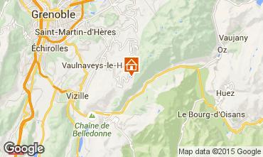 Mapa Chamrousse Apartamento 39422