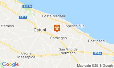 Mapa Ostuni Villa 63775