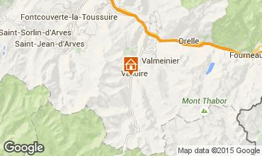 Mapa Valloire Apartamento 92317