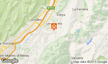 Mapa Les Sept Laux Casa rural 98419