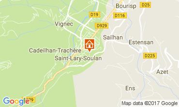 Mapa Saint Lary Soulan Apartamento 112350