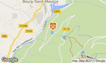 Mapa Les Arcs Apartamento 226