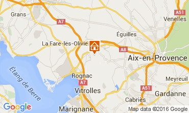 Mapa Marsella Villa 80278