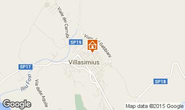 Mapa Villasimius Apartamento 95140