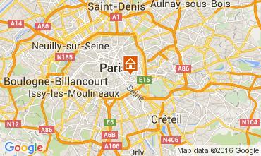 Mapa PARÍS Apartamento 105564