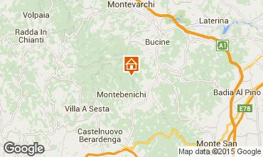 Mapa Siena Casa rural 84892