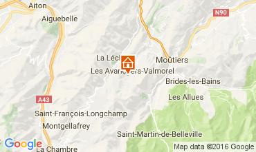 Mapa Valmorel Apartamento 66547