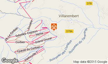 Mapa Le Corbier Apartamento 60817