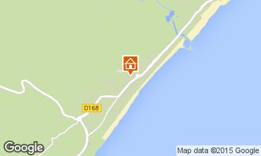 Mapa Narbonne plage Villa 9171