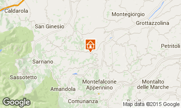 Mapa Penna San Giovanni Villa 53506