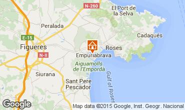 Mapa Ampuriabrava Apartamento 82801