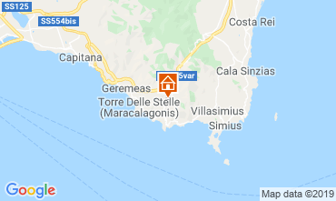 Mapa Villasimius Villa 59840