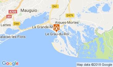 Mapa Le Grau du Roi Apartamento 110990