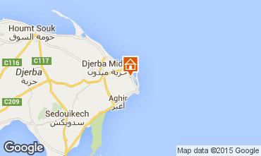 Mapa Djerba Villa 100007