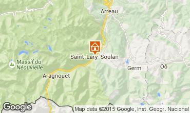 Mapa Saint Lary Soulan Chalet 102168