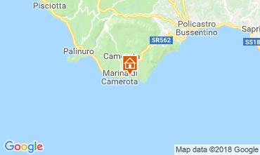 Mapa Marina di Camerota Apartamento 21885