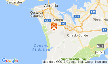 Mapa Lisboa Villa 78951