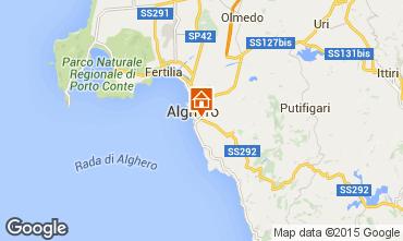 Mapa Alghero Apartamento 45136
