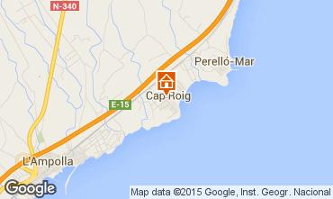 Mapa La Ampolla Villa 93809