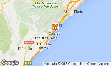 Mapa La Ametlla de Mar Villa 80569