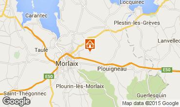 Mapa Morlaix Casa rural 75696