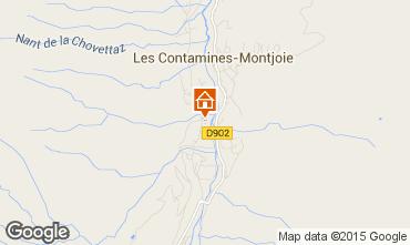 Mapa Les Contamines Montjoie Apartamento 931