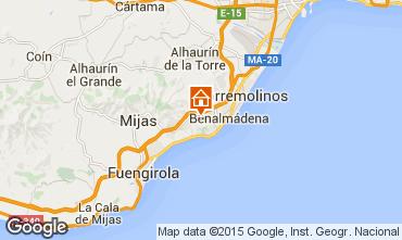 Mapa Benalmádena Villa 9621