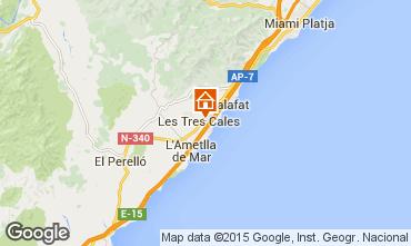 Mapa La Ametlla de Mar Villa 60099