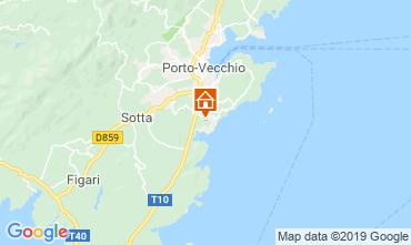Mapa Porto Vecchio Apartamento 119062
