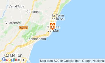 Mapa Oropesa del Mar Apartamento 118253