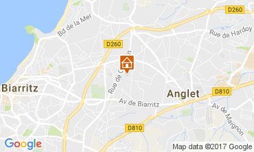 Mapa Biarritz Casa 88875