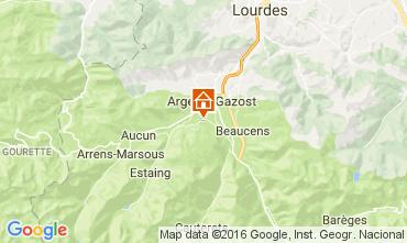 Mapa Argeles Gazost Chalet 4901
