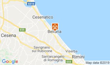 Mapa Bellaria Igea Marina Apartamento 118340