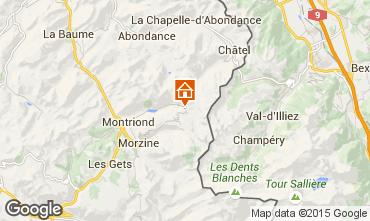 Mapa Avoriaz Chalet 97037