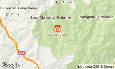 Mapa Les Menuires Apartamento 1673