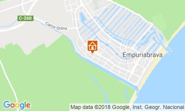 Mapa Ampuriabrava Casa 116096