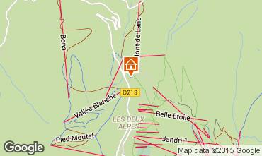 Mapa Les 2 Alpes Apartamento 1171