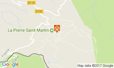 Mapa Arette La Pierre Saint Martin Estudio 66668