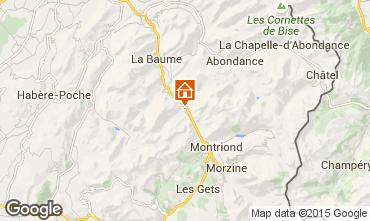 Mapa Morzine Chalet 39125
