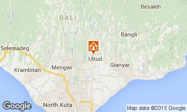 Mapa Ubud Casa 41763