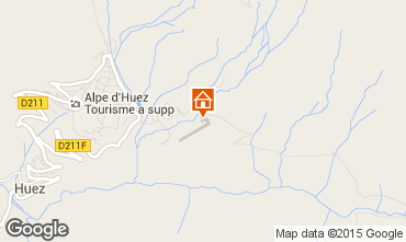 Mapa Alpe d'Huez Estudio 80013