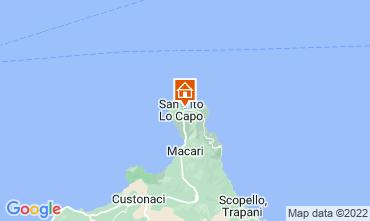 Mapa San Vito lo Capo Apartamento 53467
