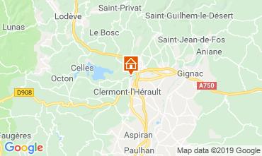 Mapa Montpellier Casa 11934
