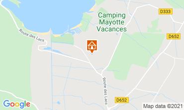 Mapa Biscarrosse Mobil home 6589