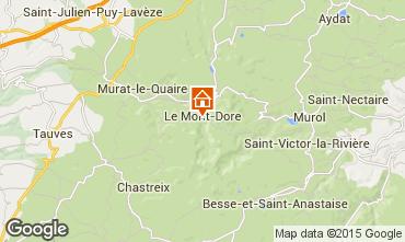 Mapa Le Mont Dore Estudio 3881