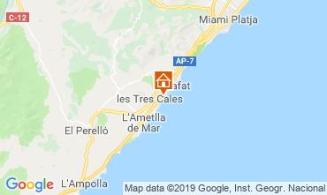 Mapa La Ametlla de Mar Villa 118540