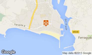 Mapa Praia da Rocha Apartamento 71391