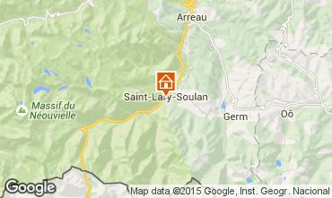 Mapa Saint Lary Soulan Estudio 4436
