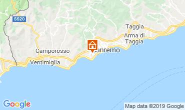 Mapa Sanremo Villa 117828
