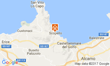 Mapa Scopello Apartamento 107603